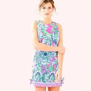Lilly Pulitzer Mila Shift Dress Pink Tropic NWOT